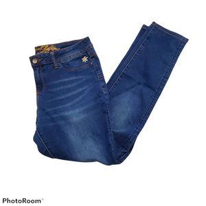 Desigual exotic jeans med wash waist  29